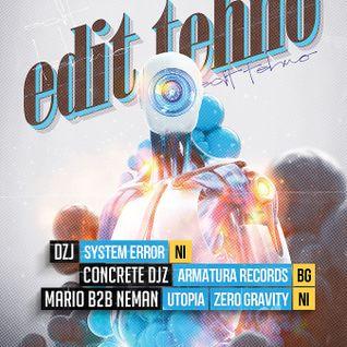 Live @ Edit:Tehno, Klub Scena 261013