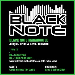 Asco - Black Note Marabooted (17.04.2013)
