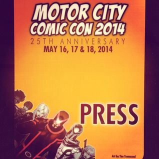 Sam Eggleston, Comic Book Writer Interview at Motor City Comic Con 2014