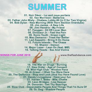 SONGS FOR JUNE 2015