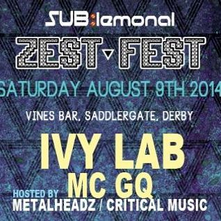 Zest Fest DJ Set [LIVE MIX] - 09/08/14