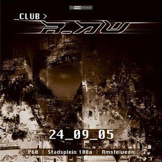 Armageddon Project @ Club r_AW (24-09-2005)