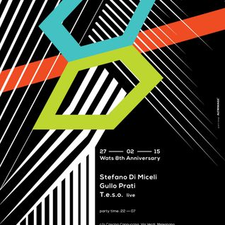 "Stefano Di Miceli ""Special Ambient/House early set"" Wats 8th Anniversary 27.02.15"