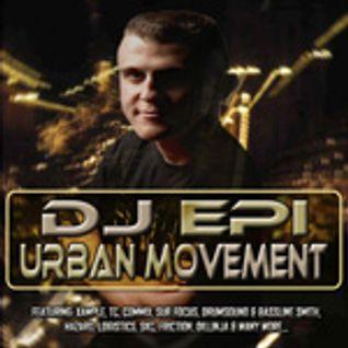 DJ EPI URBAN MOVEMENT MIX CD 2008