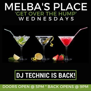 DJ Technics and Sheila Ford Live at Melbas House Music Happy Hour 7-13-2016