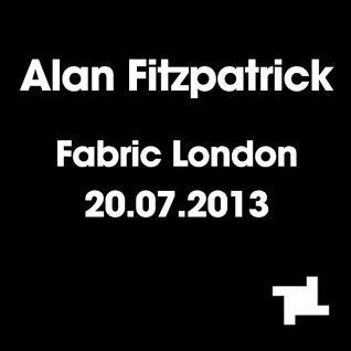 Alan Fitzpatrick - Recorded Live @ Fabric, London 20.7.13