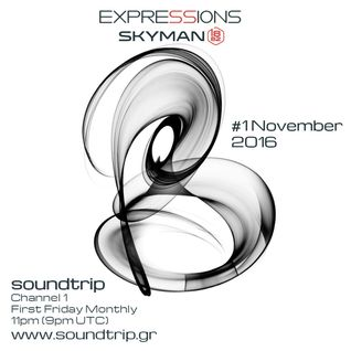 Expressions #001 November 2016 - Soundtrip Radio 1 - Deep Melodic Moods