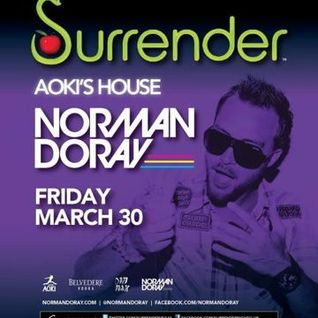 Norman Doray - Live @ Surrender NightClub (Las Vegas, USA) - 30.03.2012