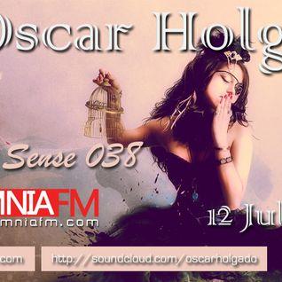 Oscar Holgado - Auditory Sense 038 @ InsomniaFm [12 Jul, 2012]