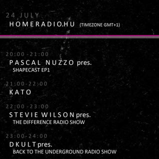 DKult @ Kato Promo Factory - Homeradio Radio (Hungary) 24/07/2012