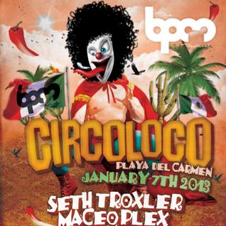 Maceo Plex, Seth Troxler, Martinez Brothers - Live at BPM Festival 2013, Coco Maya (07-01-2013)