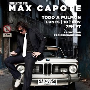 10 de noviembre del 2014 (1) / Max Capote / Salario Mínimo / El Gabinete / Maldita Vecindad