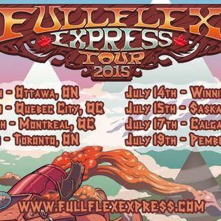 Zeds Dead - Live @ Full Flex Express Tour (Toronto, Canada) - 11.07.2015