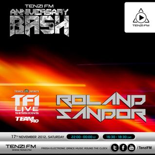 TFI & Team 140 Live Sessions With Roland Sandor @ Tenzi.FM (17.11.2012)