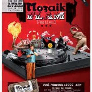MOZAIK FLAM' - recorded at Melbourne, Australia - Silent Disco party - feb 2013