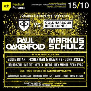 Fisherman & Hawkins - Live @ Perfecto Fluoro VS Coldharbour Recordings (Club Panama, ADE 2015) - 15.