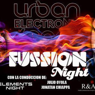Urban Electronic Dance. Programa del sábado 29/8 en RadioiRedHD #SET #EnVivo de FUSSION.
