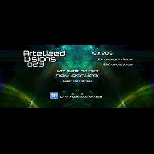 Artelized Visions 023 (November 2015) with guest Dan Ascherl on DI FM