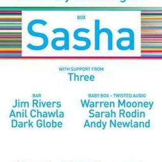 Sasha - Live at Invol2ver Launch Party, London (30-08-2008)