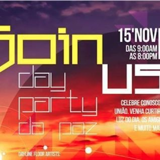 Gabriel Carminatti @ JOIN US day party - Passo Fundo/RS 15/11/2013