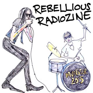 REBELLIOUS RADIOZINE - JUN 2015 - the Munster Party garage-punk fiesta special