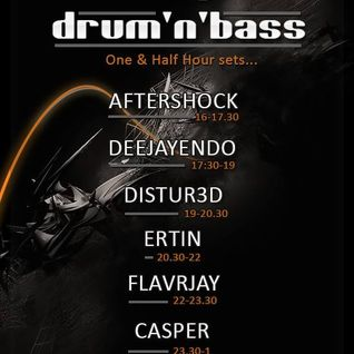 FLavRjay on OOS Radio, Only Drum n Bass 90min Special 24-Aug-16. Vinyl Mix