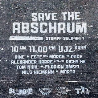 Bine @ Stressfucktor - Save the Abschaum-Stumpf Soliparty - UJZ Korn Hannover - 10.06.2011