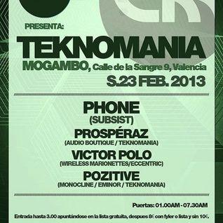 Phone @ Mogambo club (23.2.13)