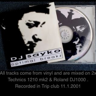Sayko - Optimal breakz (2001)