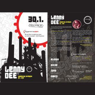 Guido - Live @ Diggarama pres. Lenny Dee (Aquarius, Zagreb - 30.01.2009)