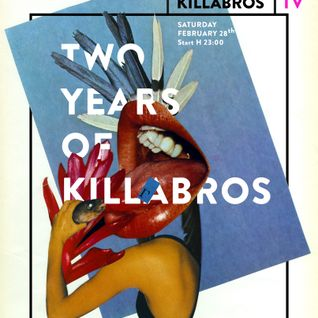 Killabros B day party, Pigro on Sofa b2b Teo Naddi b2b P. Flex