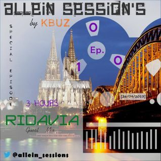 Allein Session's 010 ridavia Guestmix (26.09.2013)
