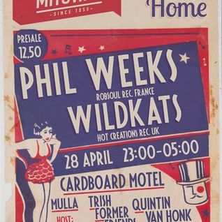 Phil Weeks - Live @ Club Home, Amsterdam (Part 2) (28-04-2012)