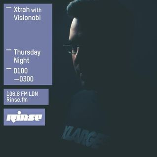 Xtrah feat. Visionobi MC (Cyberfunk, Symmetry Recordings) @ Rinse.fm 106.8 FM - London (17.07.2015)