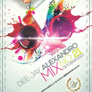 Mix No. 21 (Oktobar 2013) mixed by Dj Alexandro