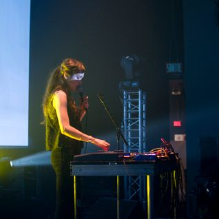 Marie Davidson Live @ MUTEK 2014 - Play 2