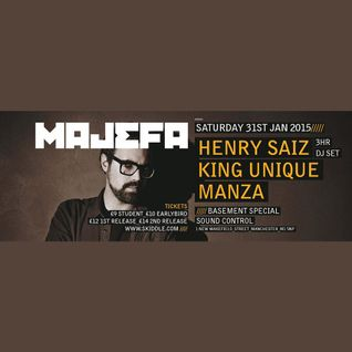 Henry Saiz - Majefa pres. Henry Saiz at Sound Control in Manchester (31-01-2015)