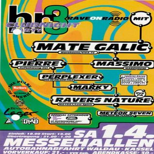 Massimo / Pierre / Mate Galic / Perplexer @ Rave On Radio - Messehallen Kassel - 01.04.1995