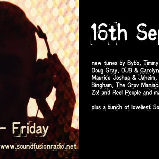 MaxK on Soundfusion Radio #70 - 16th September - with a bunch of new ones