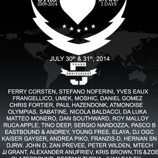 Franzis-D - 5th Year Anniversary of Insomniafm 2014