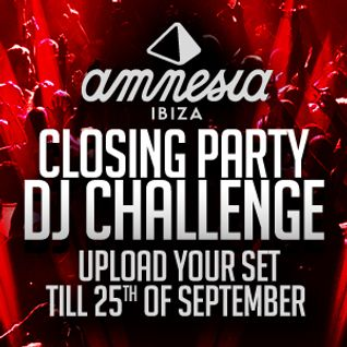 Amnesia DJ Competition D.J. HOUSE INVASION