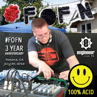 #FOFN 3 Year Anniversary Live PA. July 30, 2016