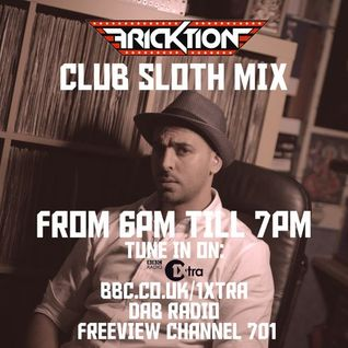 @DJFricktion - Club Sloth Mix (BBC Radio @1xtra) #clubsloth Radio Rip - Aired 21/11/2014