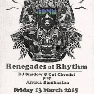 DJ Bacon and Jing - vinyl set @ Afrika Bambaataa Renegades of Rhythm tour @ Family nightclub 13.3.15