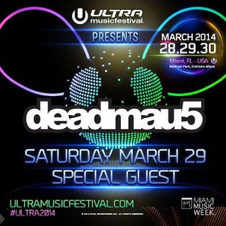 Deadmau5 at Ultra Music Festival 2014 - Miami, USA (Day 2) - I ♥ Trance House music