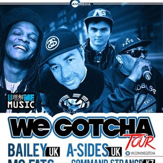 A-Sides (Eastside Records) @ We Gotcha Tour, ClubZal - St. Petersburg, Russia (26.09.2014)