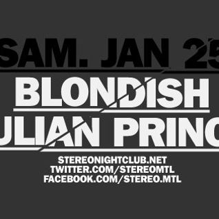 @blond_ish @ Stereo Montreal – 6hours Set (25-01-2014)