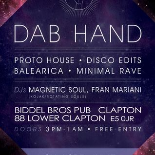 Dab Hand Disco - Sun 3rd June London