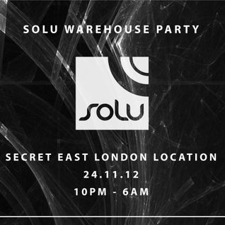 Paul Baker //078// Live @ SOLU Warehouse Party 24.11.2012