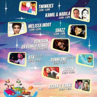 Kamil & Nabila @ FMFA2012 - Future VIP Arena